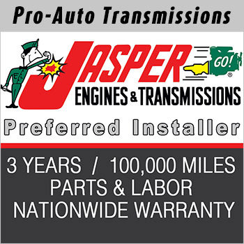 Jasper Transmission Replacement Warranty
